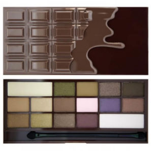 Makeup Revolution Paleta 16 Cieni I Heart Chocolate