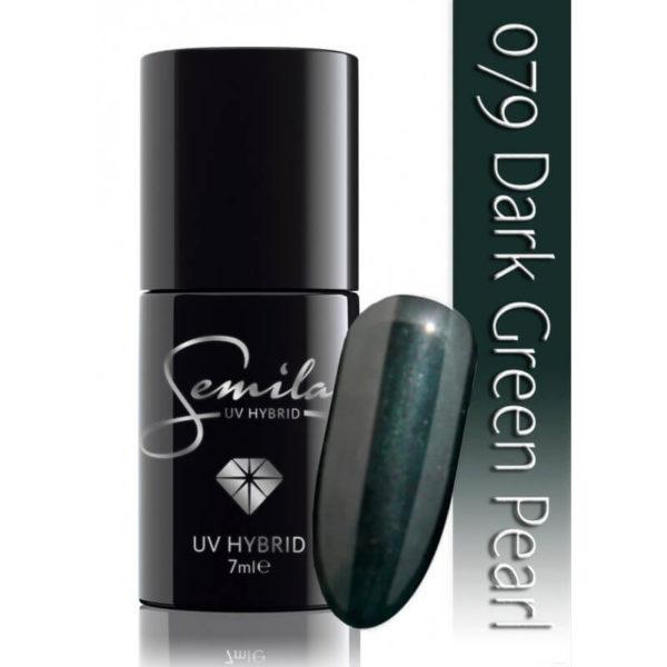 Semilac Lakier Hybrydowy 079 Dark Green Pearl