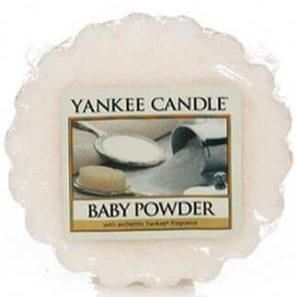 Yankee Candle Baby Powder - Wosk