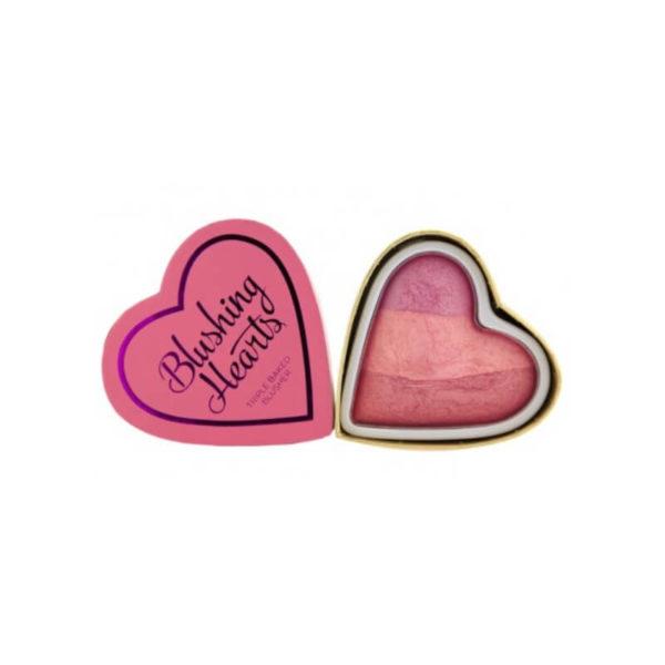 Makeup Revolution Róż Blushing Hearts
