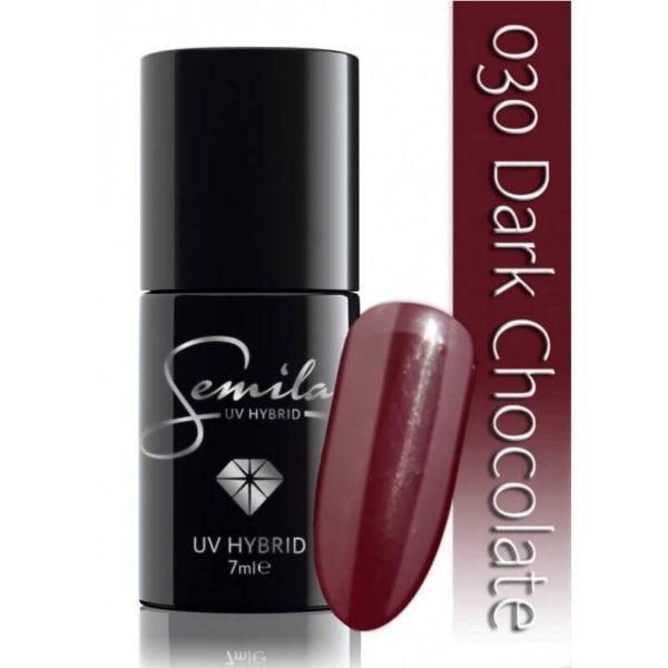Semilac Lakier Hybrydowy 030 Dark Chocolate