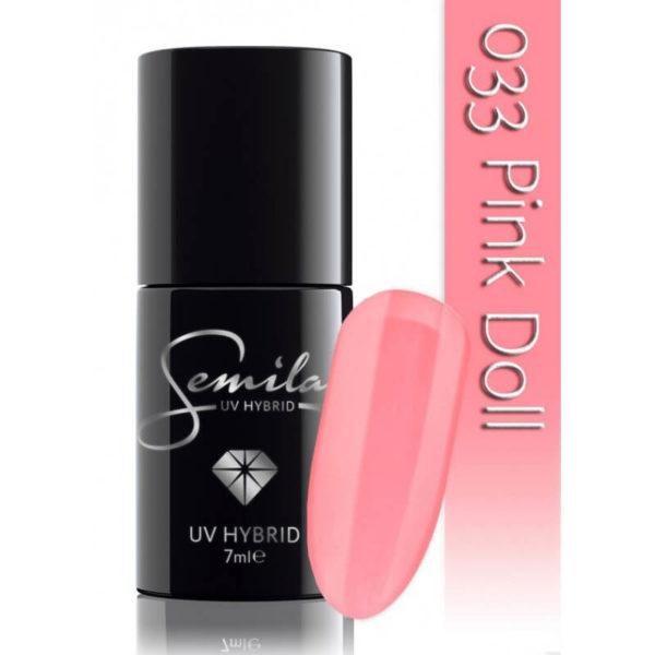 Semilac Lakier Hybrydowy 033 Pink Doll