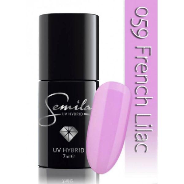Semilac Lakier Hybrydowy 059 French Lilac