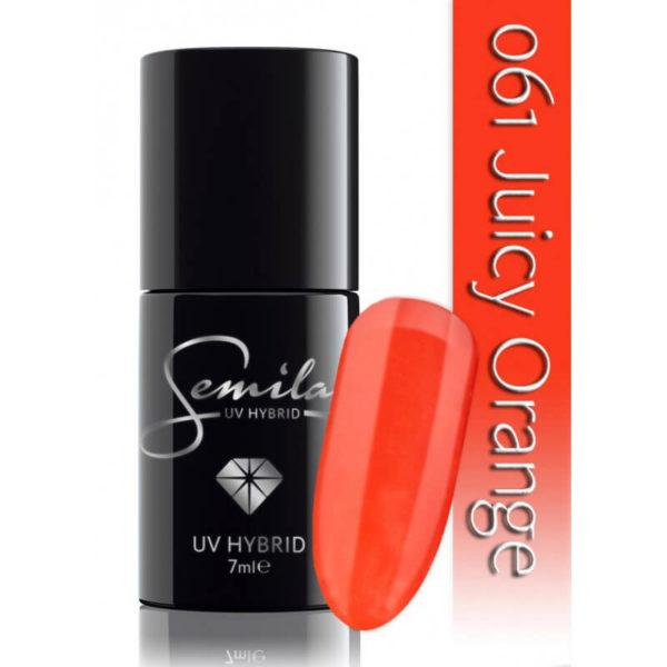 Semilac Lakier Hybrydowy 061 Juicy Orange