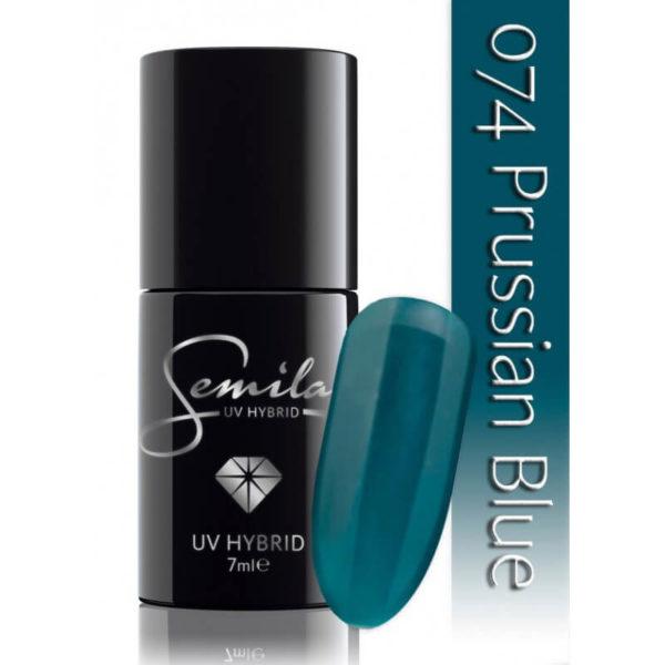 Semilac Lakier Hybrydowy 074 Prussian Blue