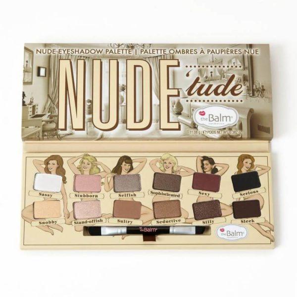 The Balm Nude Tude - Paletka 12 Cieni