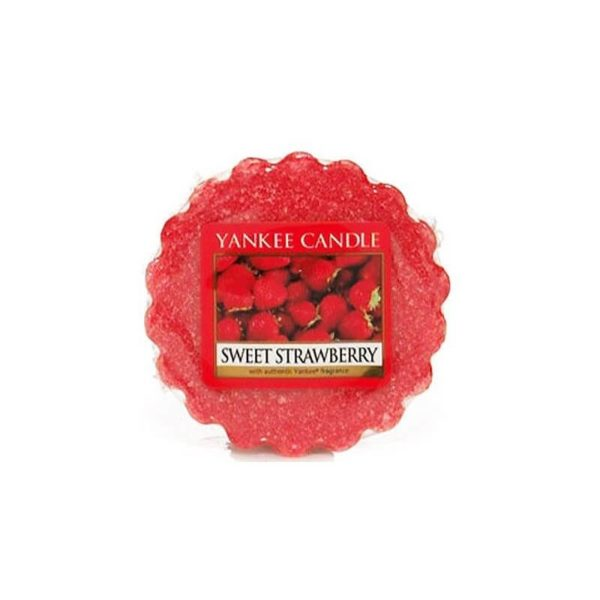 Yankee Candle Sweet Strawberry - Wosk