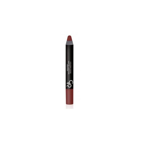 Golde Rose Matte Crayon Lipstick - 01