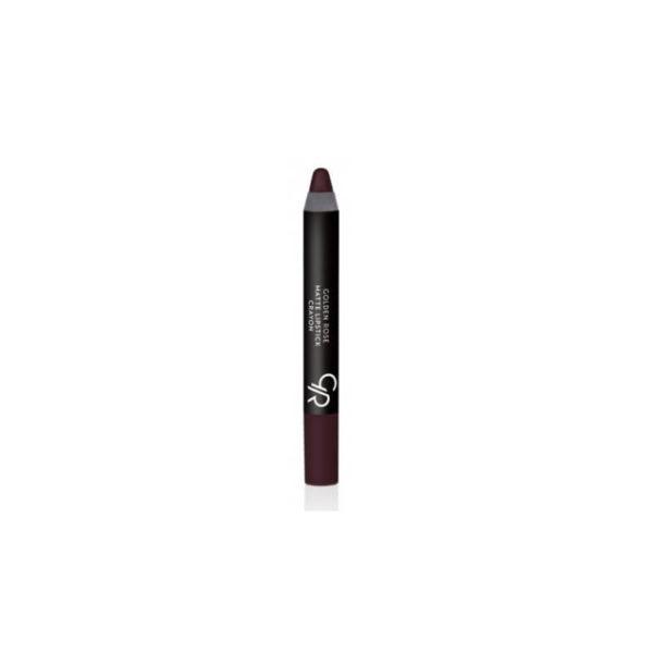 Golden Rose Matte Crayon Lipstick - 03
