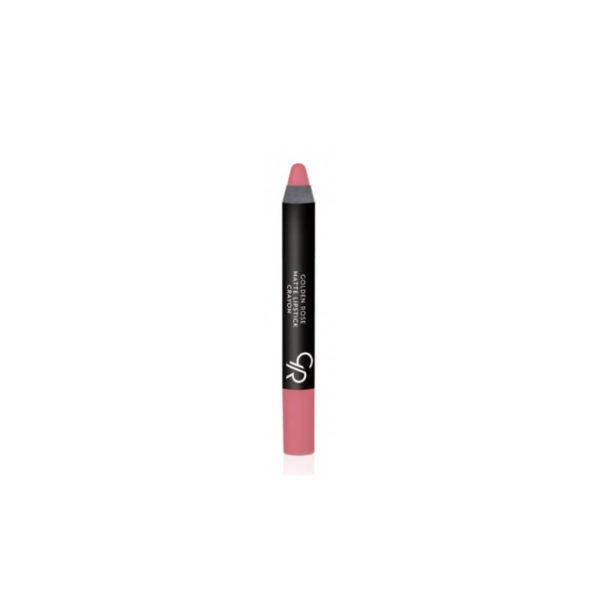 Golden Rose Matte Crayon Lipstick - 12