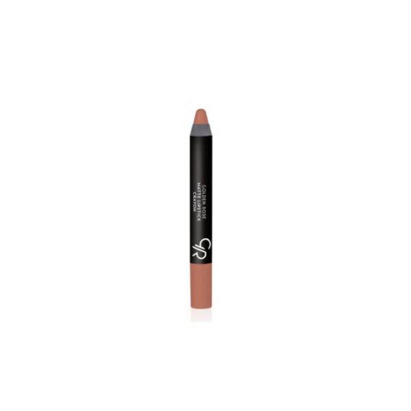 Golden Rose Matte Crayon Lipstick - 14