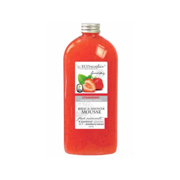 Stara Mydlarnia Mus do Kąpiel Strawberry - Eco Receptura