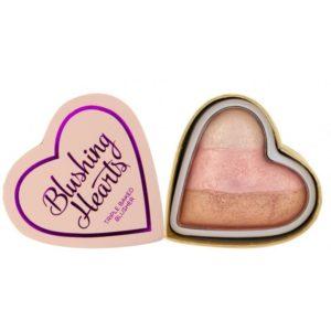 Makeup Revolution Róż Blushing Hearts Iced Hearts