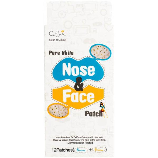 Cettua Nose & Face Oczywszczające Plastry na Twarz