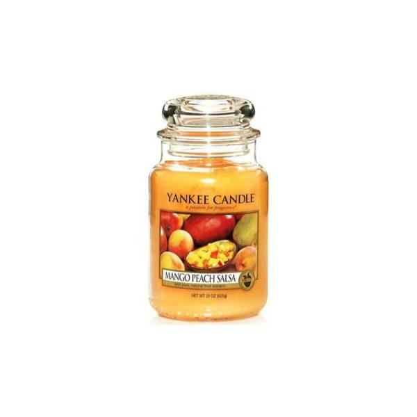 Yankee Candle Mango Peach Salsa - Świeca Duża