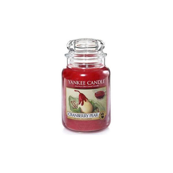 Yankee Candle Cranberry Pear - Świeca Duża