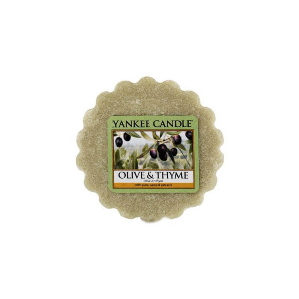 Yankee Candle Olive & Thyme - Wosk