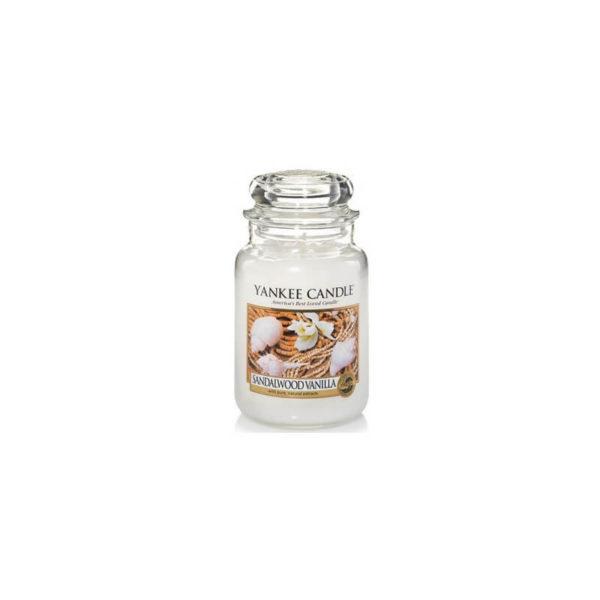Yankee Candle Sandalwood Vanilla - Świeca Duża