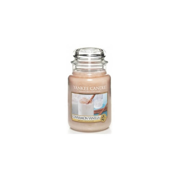 Yankee Candle Cinnamon Vanilla - Świeca Duża