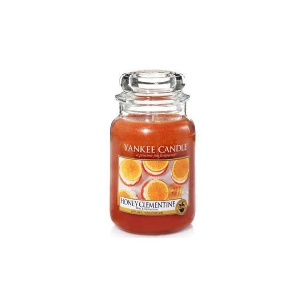 Yankee Candle Honey Clementine - Świeca Duża
