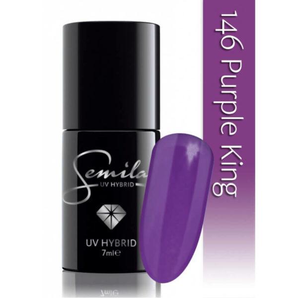 Semilac Lakier Hybrydowy 146 - Purple King
