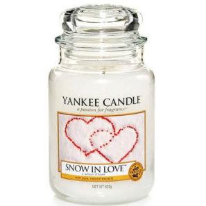 Yankee Candle Snow in Love - Świeca Duża