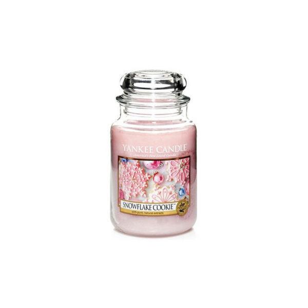 Yankee Candle Snowflake Cookie - Świeca Duża