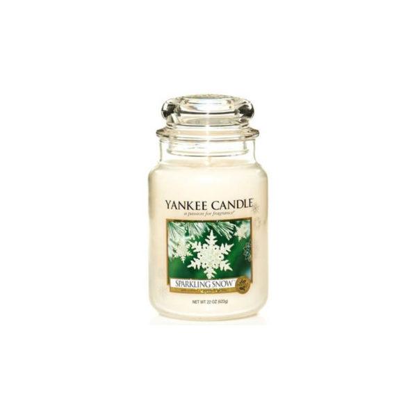 Yankee Candle Sparkling Snow - Świeca Duża