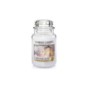 Yankee Candle Winter Glow - Świeca Duża