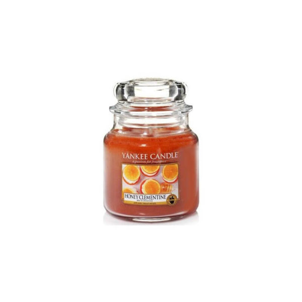 Yankee Candle Honey Clementine - Świeca Średnia