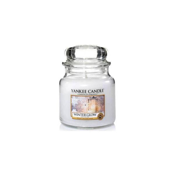Yankee Candle Winter Glow - Świeca Średnia