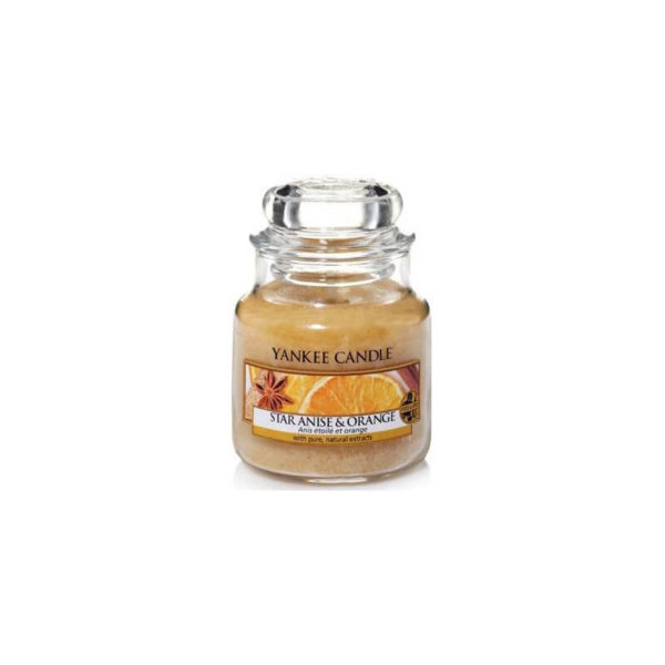 Yankee Candle Star Anise and Orange - Świeca Mała