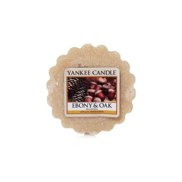 Yankee Candle Ebony & Oak - Wosk