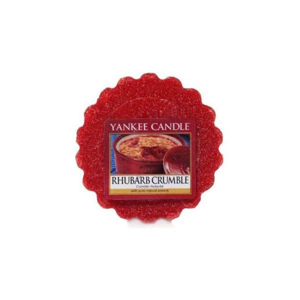 Yankee Candle Rhubarb Crumble - Wosk