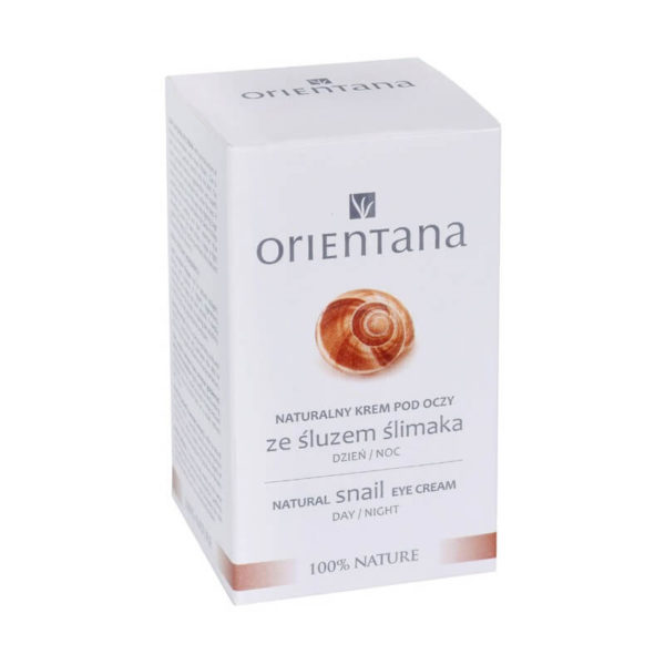 Orientana - Naturalny Krem pod Oczy ze Śluzem Ślimaka