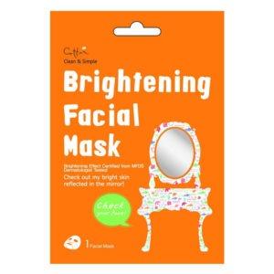 Cettua Brightening Facial Mask - Rozjaśniająca Maska