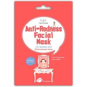Cettua Facial Maska Anti-Redness - Redukująca Zaczerwienienia Maska