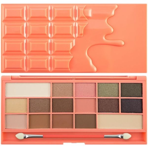 Makeup Revolution Paleta Chocolate and Peaches