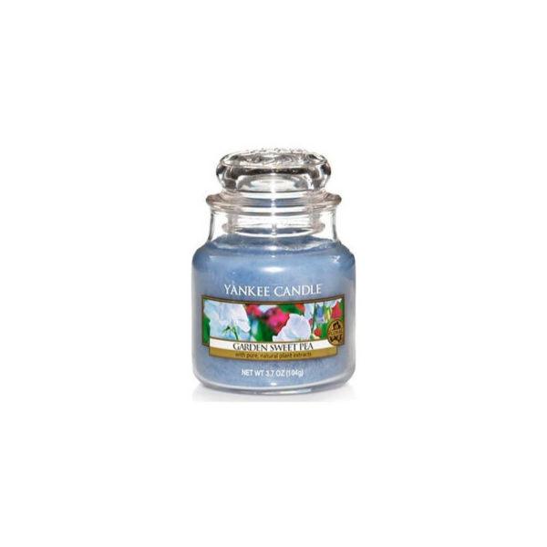 Yankee Candle Garden Sweet Pea - Świeca Mała