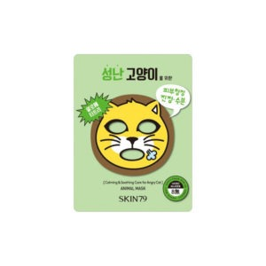 SKIN79 Animal Mask Angry Cat - Maska Kojąca