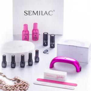 Semilac Zestaw Startowy Effective LED 9W