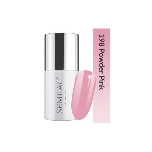 Semilac Lakier Hybrydowy Business Line 198 Powder Pink