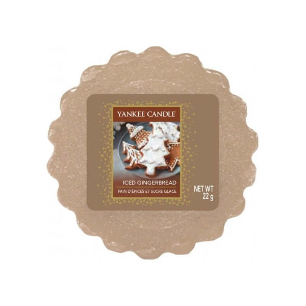 Yankee Candle Iced Gingerbread - Wosk