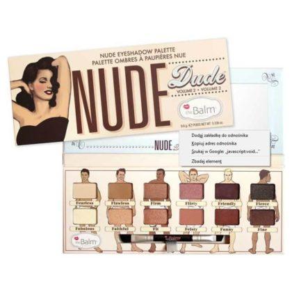 The Balm Nude Dude - Paleta 12 Cieni
