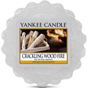Yankee Candle Crackling Wood Fire - Wosk