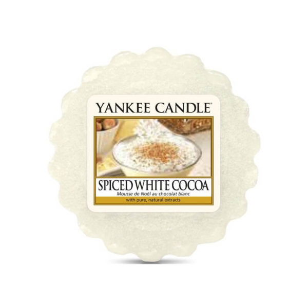 Yankee Candle Spiced Wite Cocoa - Wosk