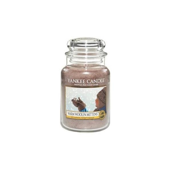 Yankee Candle Warm Woolen Mittens - Świeca Duża