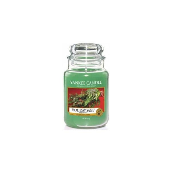 Yankee Candle Holiday Sage - Świeca Duża