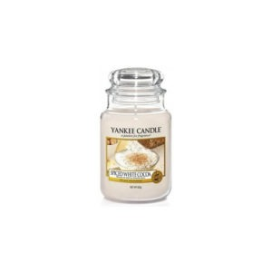 Yankee Candle Spiced White Cocoa - Świeca Duża