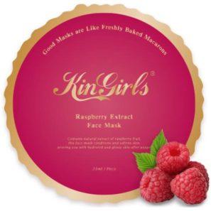 KinGirls Maseczka w Płacie - Raspberry